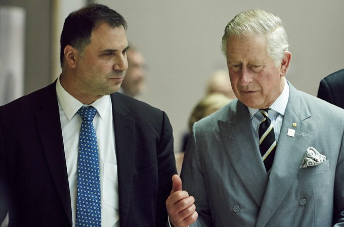 His Royal Highness The Prince Of Wales Visits International Roundtable On Disaster Recovery